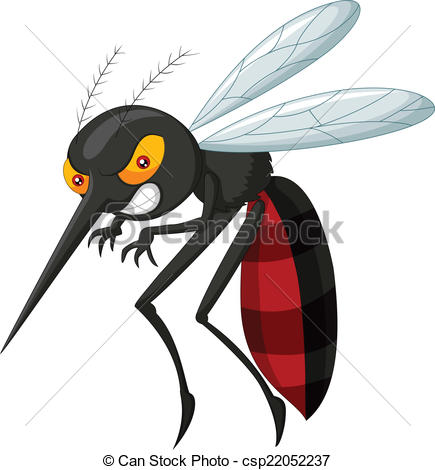 angry mosquito cartoon eps vectors csp22052237